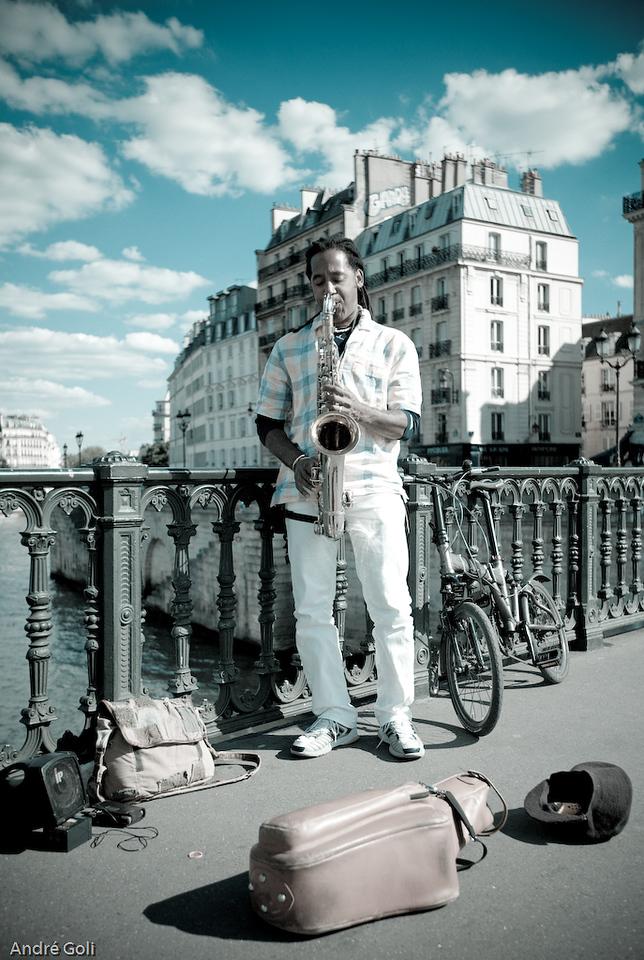Paris Blues...