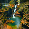 Watkins Glen Falls, NY, USA