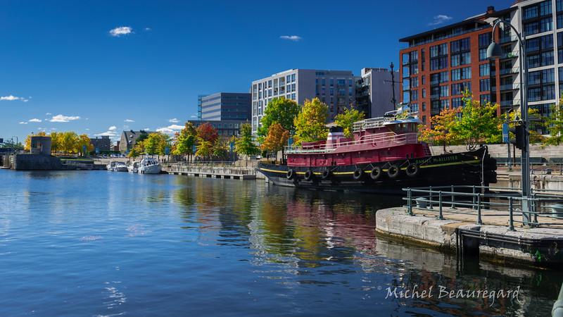Canal Lachine au vieux port de Montréal 2