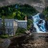 Ouiatchouan waterfall 2