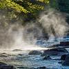 Fog in the river