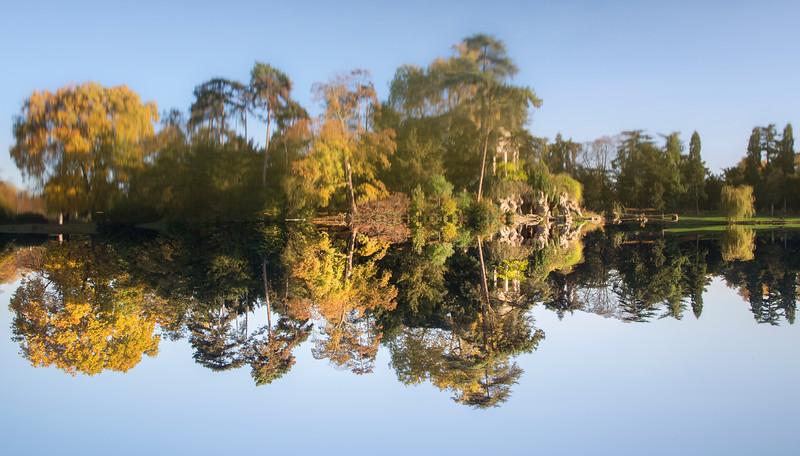 Le reflet et son lac