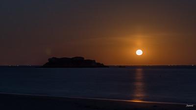 Houat - Lever de Lune - IMG_6451