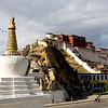 Autre vue du Potala - Lhassa - Tibet -