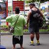 Scène de rue - Papeete - Tahiti