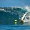Et le surfer ! - Tahiti -