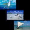 Pirogues à voile - Tahiti -