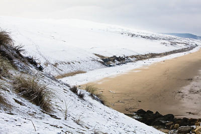 Dune du Pyla (Pilat) sous la neige