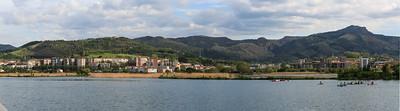 Panorama HENDAY côté espagnol 2015