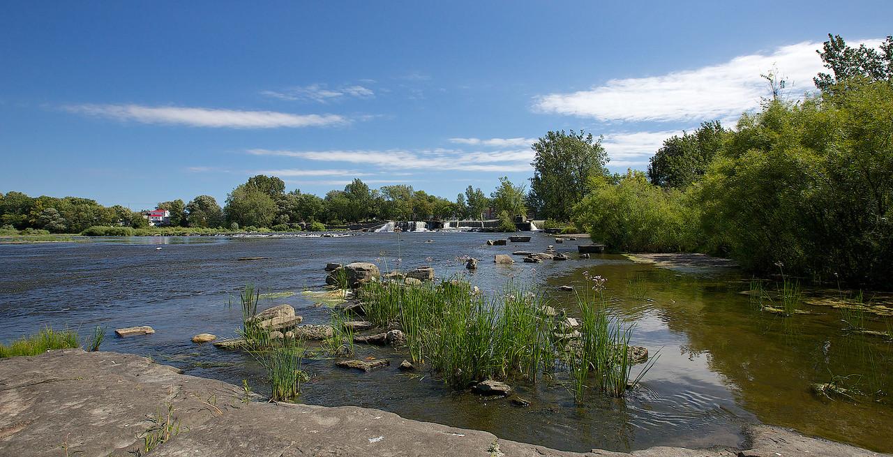 Parc Gaétan Montpetit, Ste-Martine, Rivière Chateauguay, le 6 septembre 2013