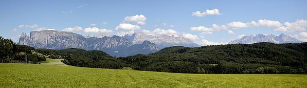 Dolomites de jour -  Bolzano- Italie 2007