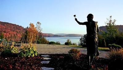 Lac à l'eau claire - automne 2007
