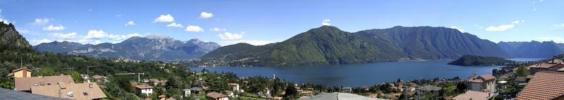 Tremezzo , Lac de Côme ,Italie le 18 juillet 2007.