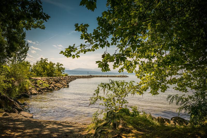 Bord du lac Léman, Vidy-Lausanne
