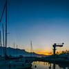 Port de la Pichette à Corseaux, Vevey, fin décembre