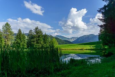 Lac des Joncs, les Paccots