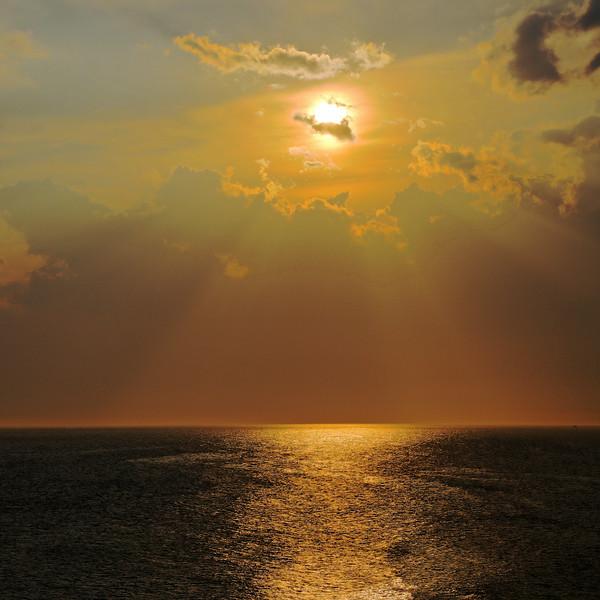 Coucher de Soleil , Sept-Iles q.c.