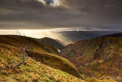 Soleil & orage sur les Vosges