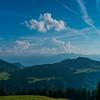 Panorama à partir de la montagne de Corbetta, au-dessus des Paccots