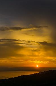 Vertorama sur le lac Léman