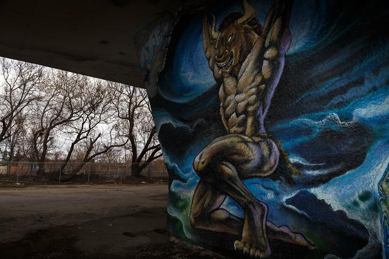 Mural art in Montreal