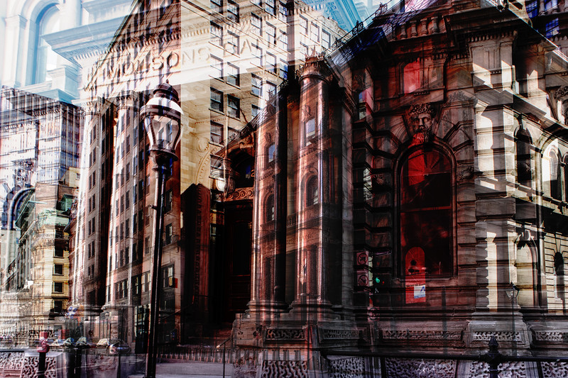 Old Montreal composite