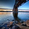 Railway bridge in Montreal