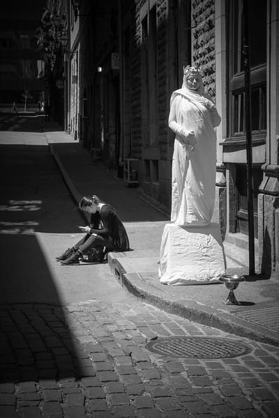 La liberté d'une statue...et d'un statut
