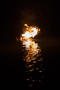 the burning barge - where we put things we'd like to let go of