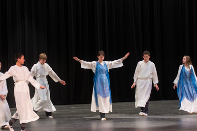 """touched on in dream"" - eurythmy at the school sharing assembly"