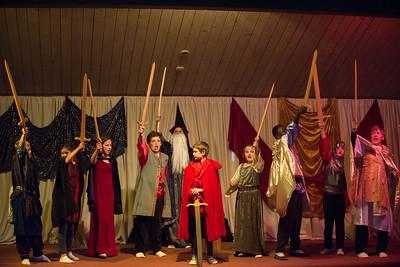 sixth grade play : Arthur - High King of Britain