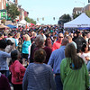Peabody, Ma. 9-10-17. Main Street in Peaody Center during the 31st Annual International Festival.