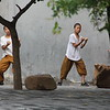 Pupils at one of the many Gongfu schools in the Shaolin village. June 21, 2017