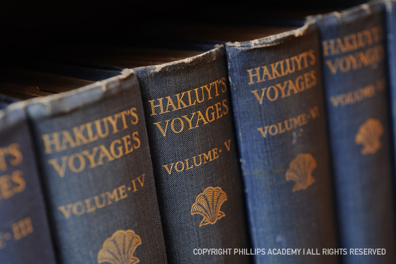 Hakluyt's Voyages, 12 volumes, 1903. Photography by Gil Talbot.