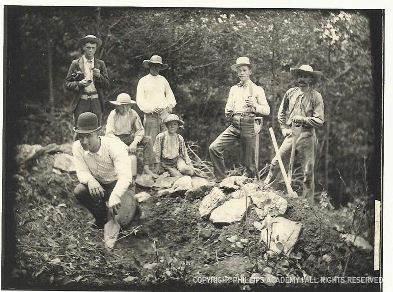 Warren K. Moorehead's field crew, Fort Ancient, Ohio.