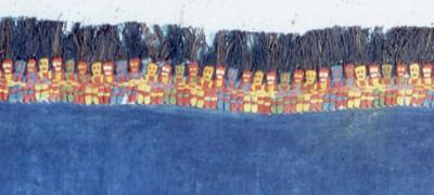 Proto Nazca textile, Peru.
