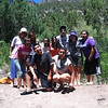 Students near Jemez Pueblo.