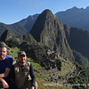 Cutler and Slater arrive at Machu Picchu after beginning the Inca Trail trek four days earlier.