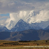 One of the many majestic snow-capped peaks in the Andes.