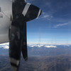 Small prop-planes are the only form of air travel generally available to and from Huaraz, Peru.