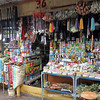 Sundry items available at the colorful Shaman's Market in Chiclayo, Peru.