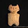 Awanyu figurine; ceramic; Pecos Pueblo, New Mexico; c. AD 1400<br /> According to Jemez Pueblo residents—the descendants of the inhabitants of Pecos—this figurine represents Awanyu, an important spiritual figure associated with water.