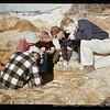 Peabody Museum excavations at the Bull Brook site, Ipswich, Massachusetts, April 1955.