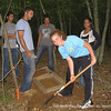 Students participate in archaeological excavations during Pecos Pathways on the Mashentucket Reservation, Mashentucket, CT.