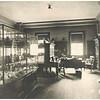 Peabody Museum library, circa 1903.