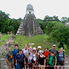 Phillips Academy students with Museum Educator Donny Slater and Spanish instructor Mark Cutler at Tikal, Guatemala—BALAM expeditionary learning program.