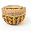 Passamaquoddy basket, Maine. Photograph by Gil Talbot.