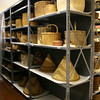 Peabody Museum collection storage.