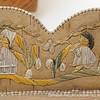Detail of Huron birch bark basket, Quebec. Photograph by Gil Talbot.