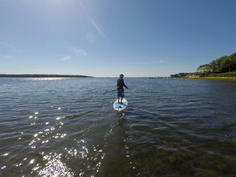 SUP Guide: Hamblin Pond, Mashpee